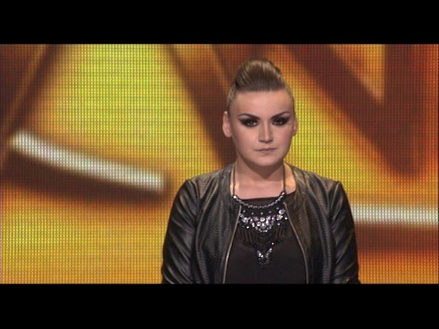 Ana Matanovic - Sama i nervozna, Crno i bijelo - (live) - ZG 1 krug 16/17 - 26.11.16. EM 10