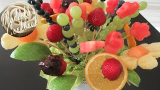 How to make Fresh Fruit Bouquet (Do It Yourself - DIY)