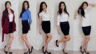 Lookbook: Stylish, Simple, Chic ft Black Pencil Skirt