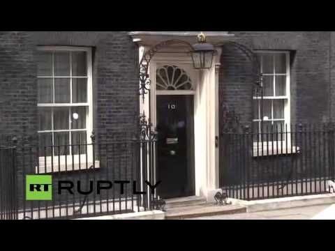 LIVE from Downing Street as Cameron leaves to submit resignation