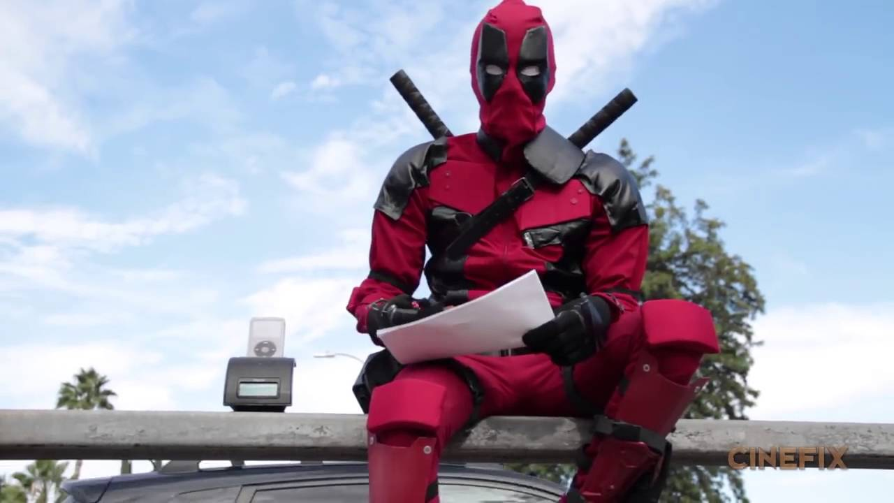 Make your own deadpool costume homemade how to youtube make your own deadpool costume homemade how to solutioingenieria Images