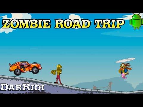 игра zombie road trip игра про машинки и зомби