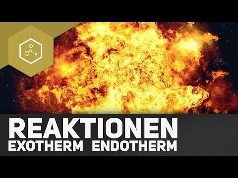 Was passiert bei exothermen und endothermen Reaktionen?!