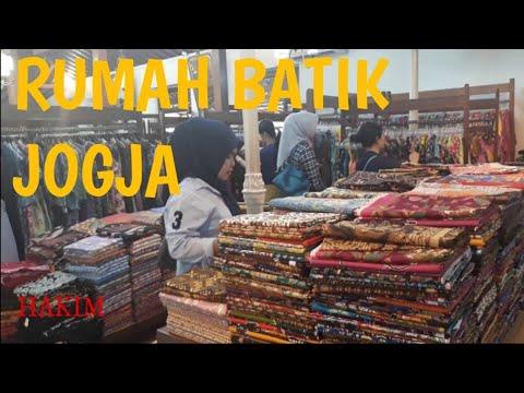 RUMAH BATIK JOGYAKARTA - PUSAT OLEH OLEH JOGJA - YouTube 8a3f61972d