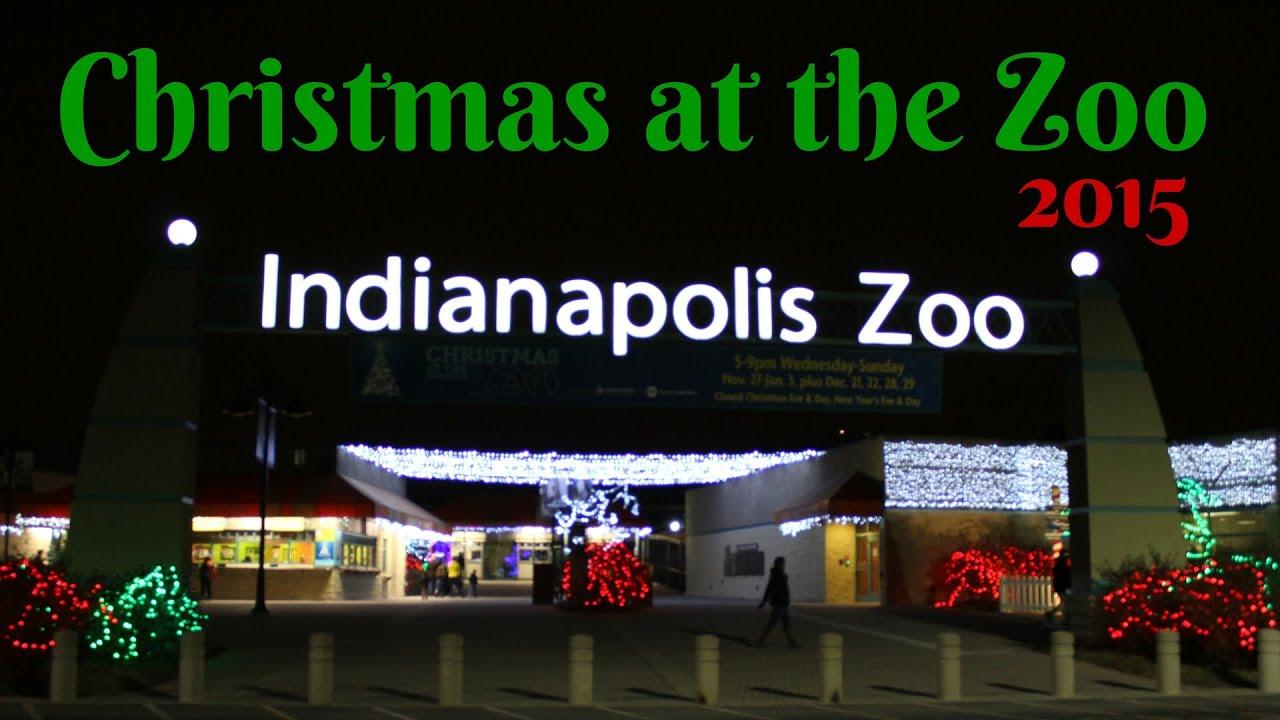 christmas at the zoo indianapolis zoo 2015