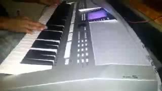 Gustavo y su teclado