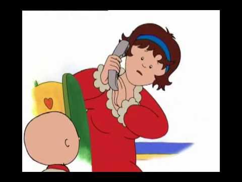 Caillou   Bölüm 49   Caillou`nun telefon görüşmesi