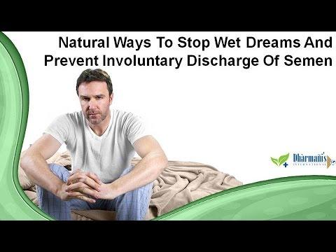 Wet dreams semen