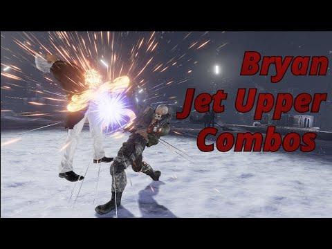 Tekken 7 | Bryan Jet Upper Combo Options