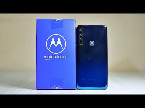 Motorola One Macro Retail Unit Unboxing & Impressions : Haaye Meri Moto ! 😂