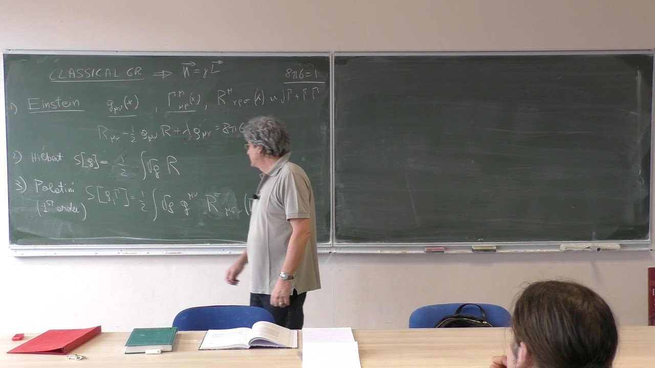 Introduction to Loop Quantum Gravity - Lecture 13: K=γL