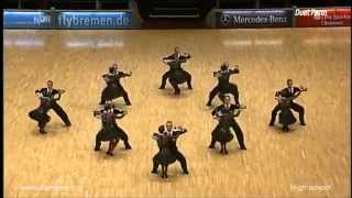 DueTeam (Perm) High School 2014 Silver World Championship Formation