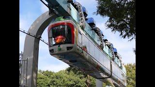 上野動物園モノレール乗車