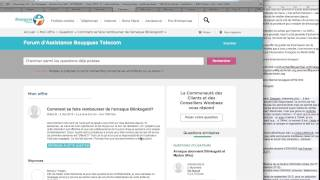 ARNAQUE internet+ FAI et vente forcée de services