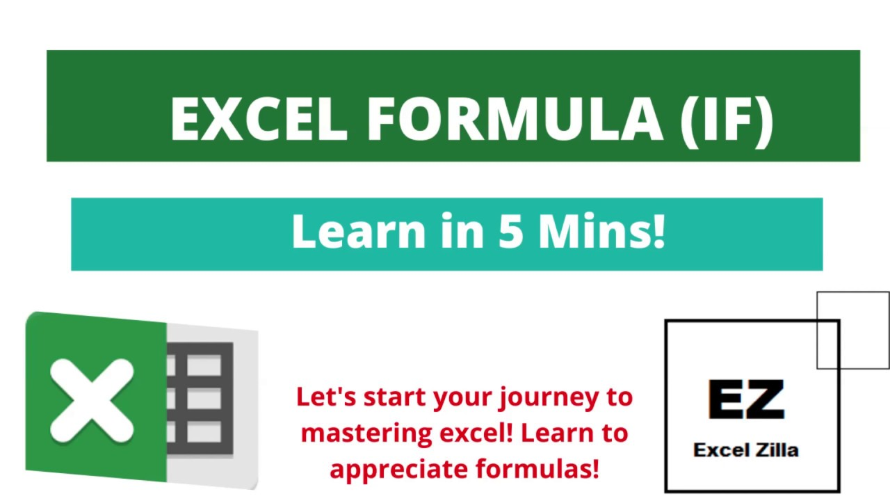 MS EXCEL IF Formula   YouTube