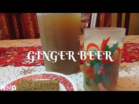 Caribbean Ginger Beer, step by step Video Recipe I Real Nice Guyana  (HD)