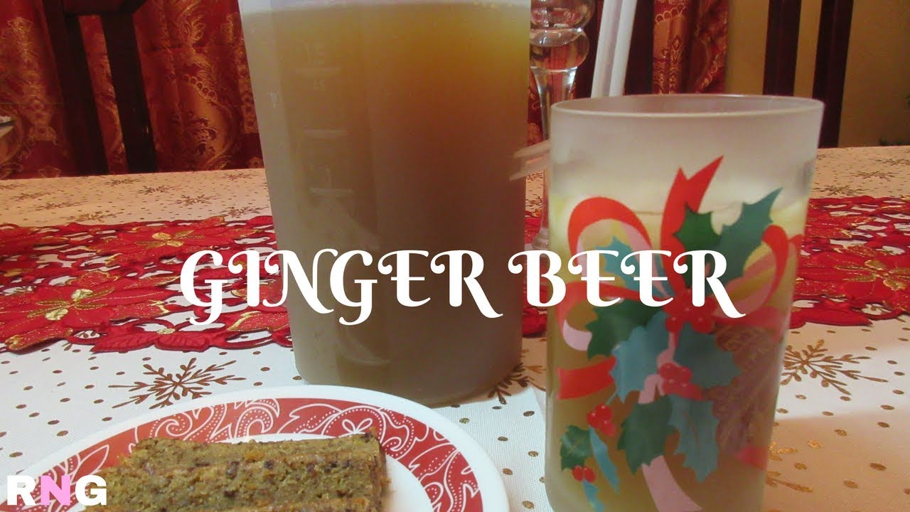 Ginger Beer Step By Step Video Recipe I Real Nice Guyana Hd Youtube