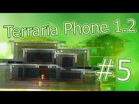 видео: lp. terraria phone #5 (Постройка дома в стиле модерн)