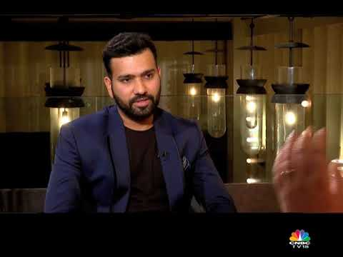 Rohit Sharma talks about his partnership with his wife & aces the rapid fire! #cnbctv18weekender thumbnail