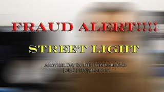 Street Light | FRAUD ALERT | Another Day In The Underground | Joe K Vlog | itsJoekMusic