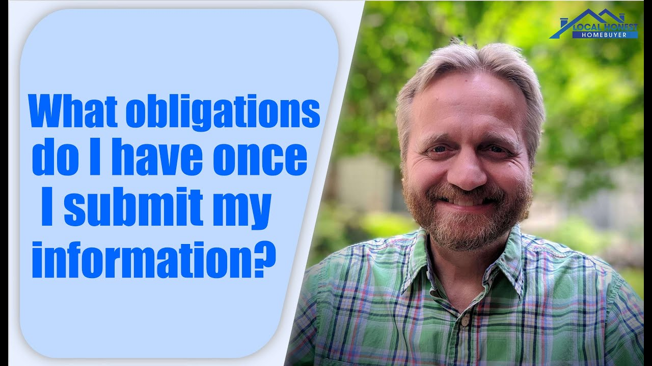 We Buy Houses Fast | What Are My Obligations?