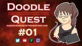 Doodle Quest - 01 - Misc Illustration