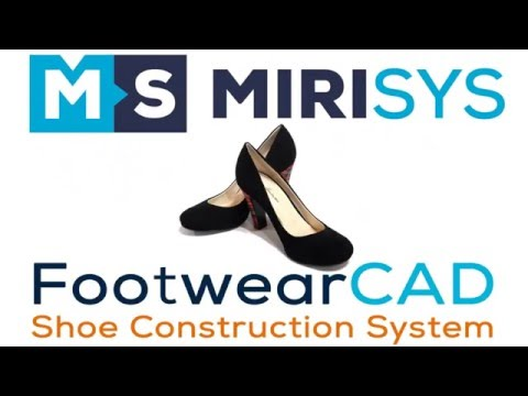 FootwearCAD 2017 - Patterns design software for shoe industry