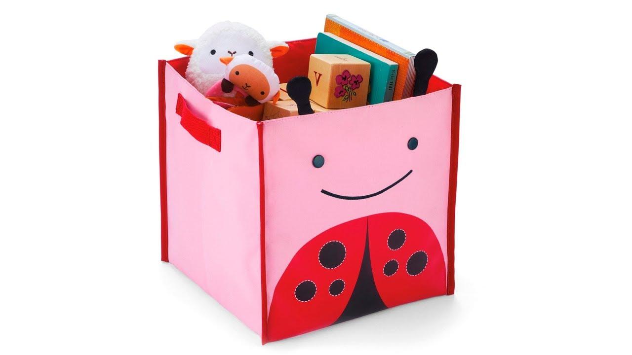Сделать своими руками ящик для игрушек