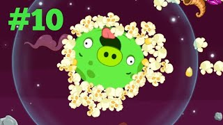Angry Birds Space #10: Giant pig boss