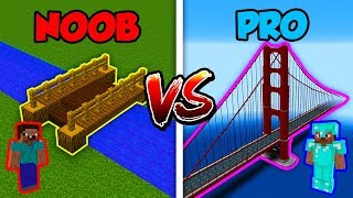 Minecraft NOOB vs. PRO: BRIDGE in Minecraft!