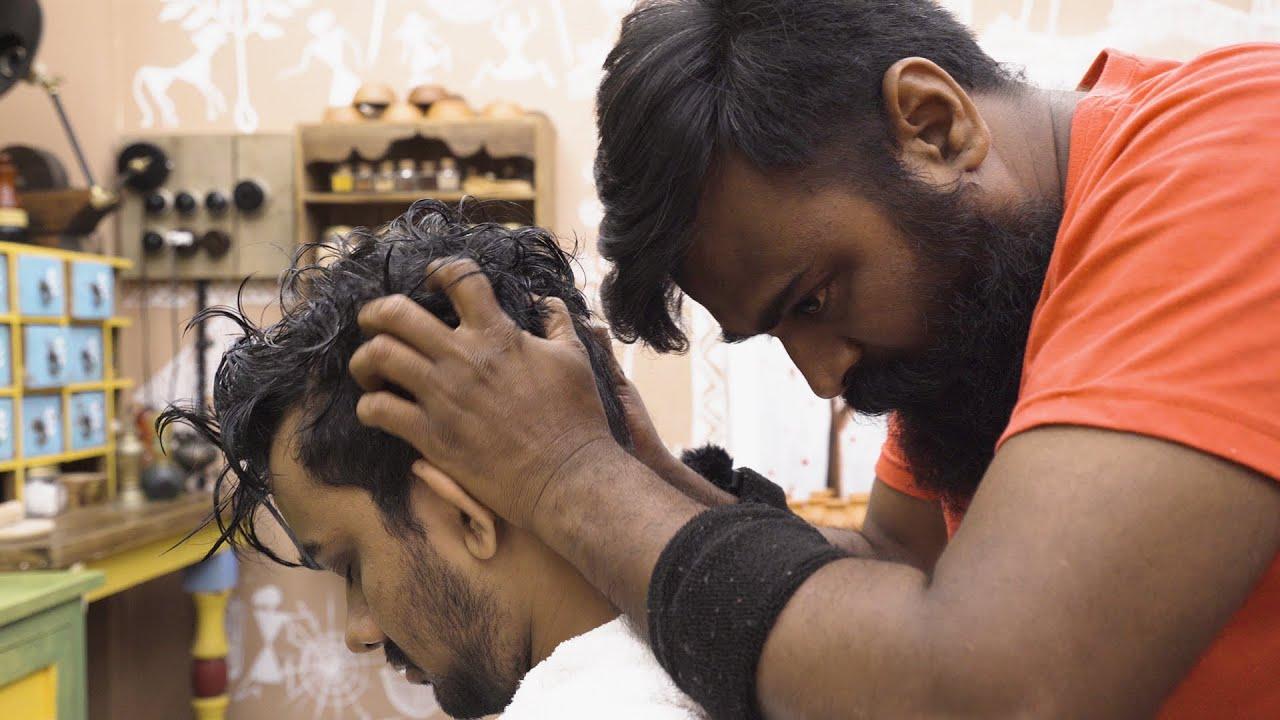 ASMR HEAD MASSAGE | powerful massage caring on details: this is YOGESH