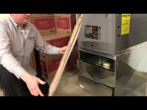 How to change a Rheem Furnace and AC filter