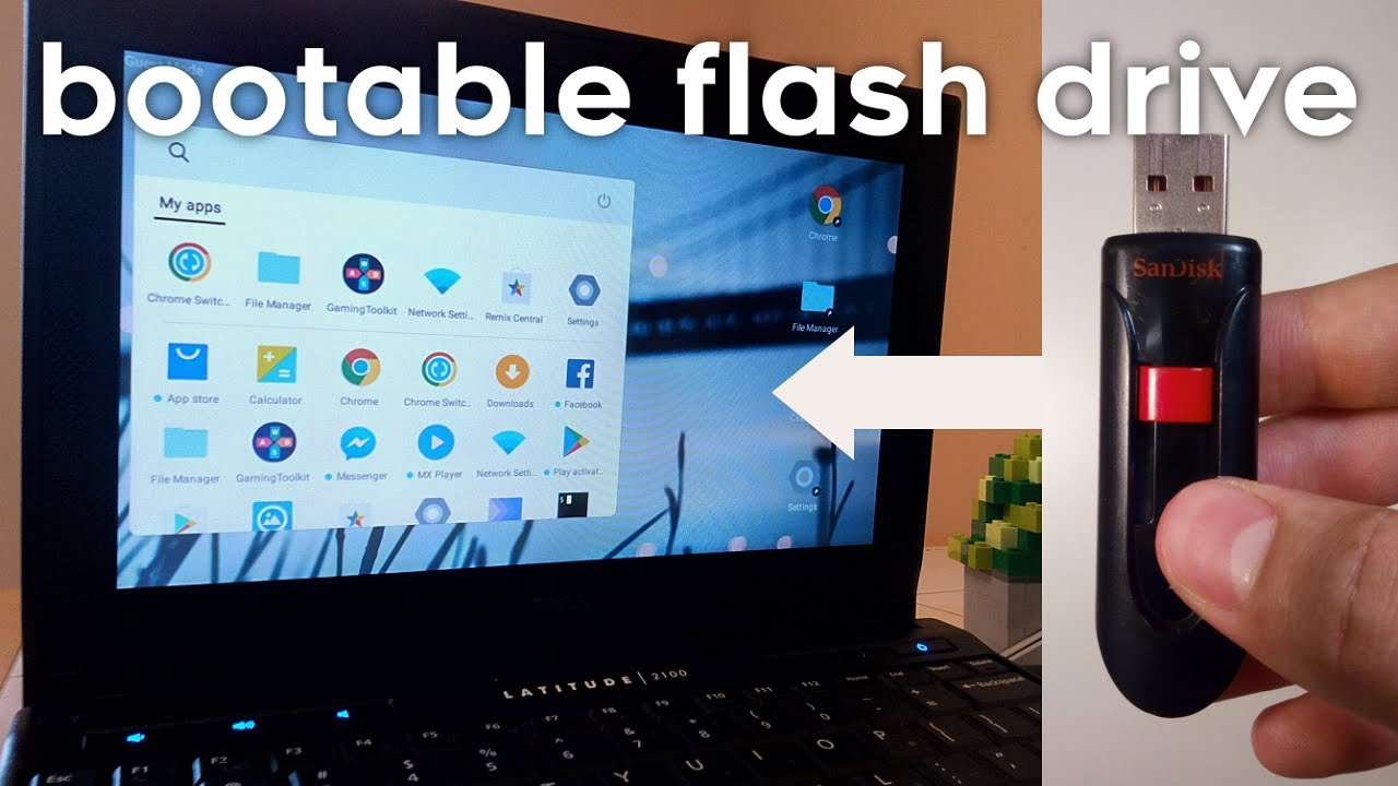 Portable OS on a Flash Drive! - Bootable Android Operating System