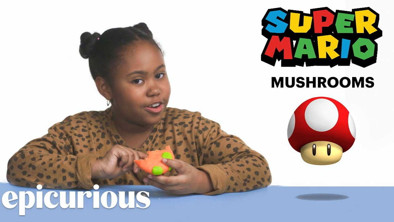 Kids Try Famous Video Game Food, From Pac-Man to Mario