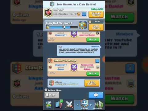 Clash Royale  Clan Battle Event