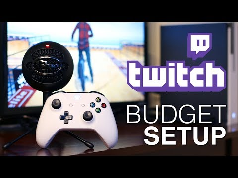 BUDGET TWITCH SETUP! // Xbox, PS4! Fortnite, BMX Streets, Destiny, CoD