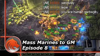 StarCraft 2: Super Salty Zerg vs Super MASS Marines!
