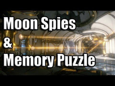 Warframe Guide: Lua Spy and Memory Puzzle