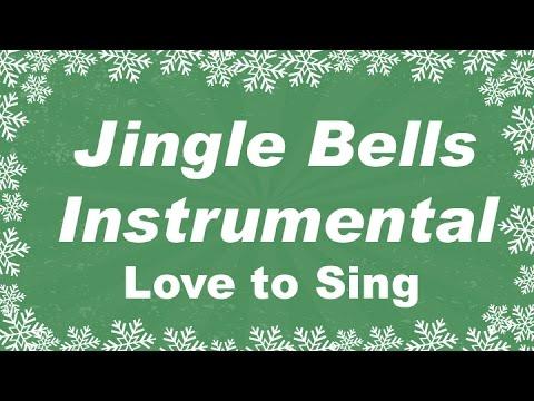 Jingle Bells Instrumental Music | Karaoke Christmas Song with Lyrics | Children Love to Sing