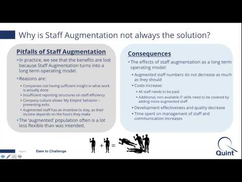 Video: Transitioning from Staff Augmentation to Managed Services
