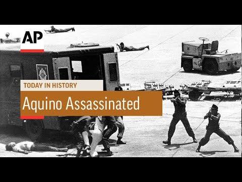 Benigno Aquino Assassinated - 1983   Today In History   21 ...