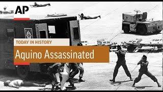 Benigno Aquino Assassinated - 1983 | Today In History | 21 Aug 17