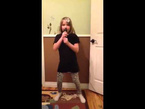 Ellie singing