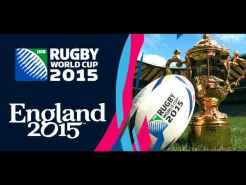 RWC 2015 Players Entrance and theme Music - This is Rugby, Phillip Sheppard