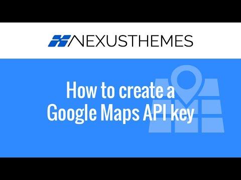 How to create Google Maps API key - Step by step