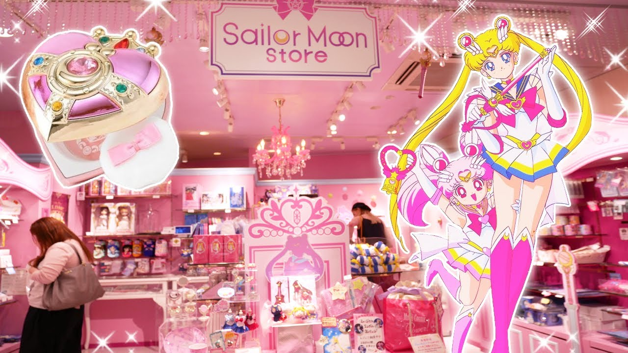 The Official Sailor Moon Store Full Tour Highlights Princess In Japan Youtube