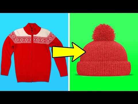 20 COOL LIFE HACKS AND CRAFTS FOR WINTER