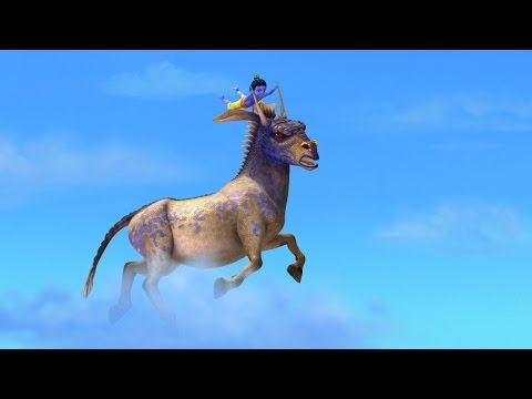 Little Krishna Tamil - Episode 10 - The Charge Of The Monster Horse