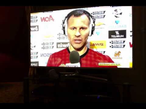 ryan giggs after 20th league title win