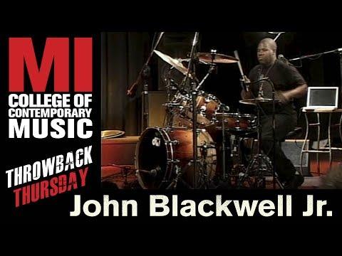 John Blackwell Jr. Throwback Thursday From the MI Library